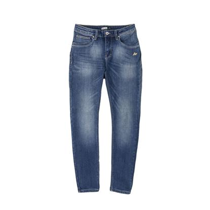Picture of Classic Medium Blue High waist Slim Straight