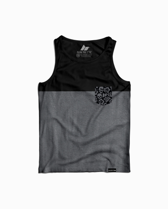 Picture of Floral Pocket Tank